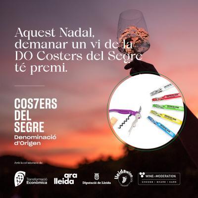 DO Costers del Segre premia demanar un dels seus vins als restaurants lleidatans